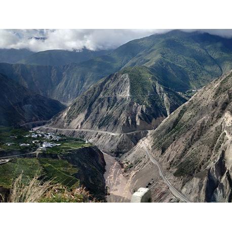 горы в Тибете