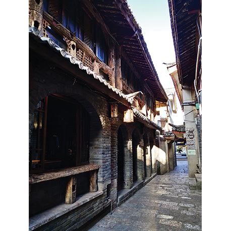 красивая улица в Азии
