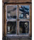 окно в хате на Запорожской Сечи