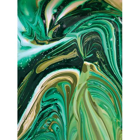 акварельные краски в воде