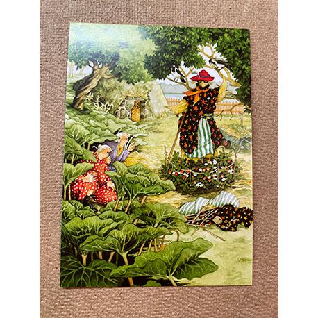 бабушки и чучело от финской художницы Inge Look