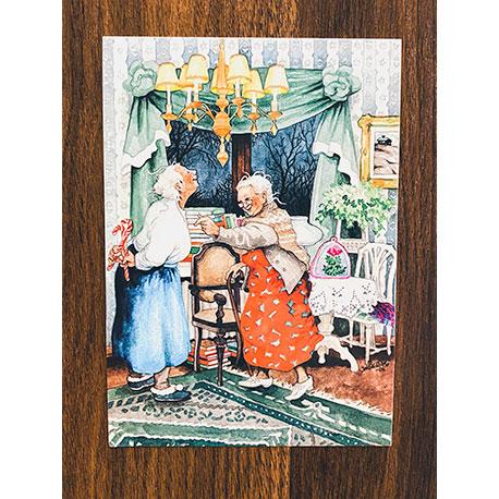старушки от финской художницы Inge Look