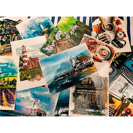 набор красивых открыток